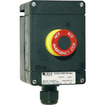 GHG411 / Emergency stop button with four contactors